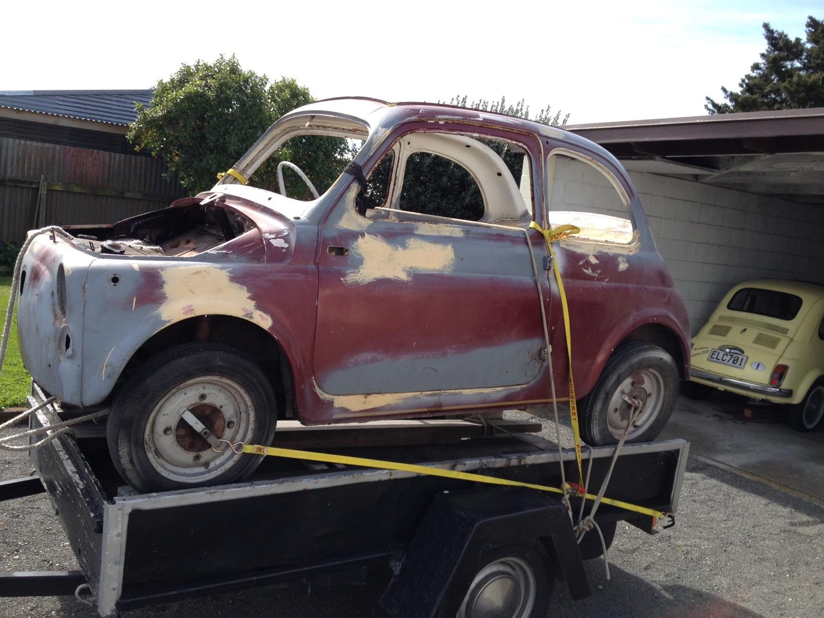 1960 Fiat 500 N